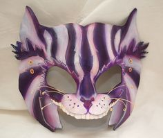 Steampunk Cheshire Cat Leather Alice in Wonderland by PlatyMorph