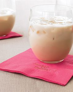 White Russian: ry this decadently creamy White Russian that is sure to please anyone with a sweet tooth. Ingredients 1 cups vodka 1 cups coffee liqueur 1 cups heavy cream Directions Stir together in a pitcher, then pour into ice-filled glasses. Winter Cocktails, Vodka Cocktails, Classic Cocktails, Cocktail Drinks, Cocktail Recipes, Alcoholic Drinks, Drink Recipes, Christmas Cocktails, Martinis