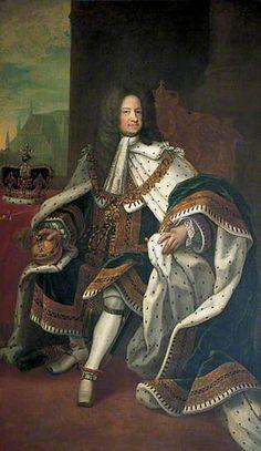 International Portrait Gallery: Retrato en majestad del Rey George I de Gran-Breta...
