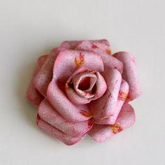 Бумажный цветок (paper flower)