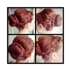 Tuesday Tutorial Step Up Your Sock Bun ❤ liked on Polyvore featuring hair