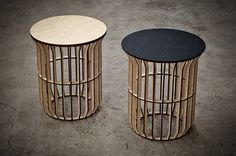Lath Table by Atelier-D (Made in Canada)