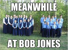 Bob Jones. Bahahahaha!!!! I'm dyin over here lol
