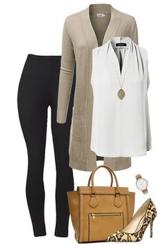 Those leggings look like they would be so comfy. – Outfit Inspiration & Ideas for All Occasions Mode Outfits, Winter Outfits, Fashion Outfits, Womens Fashion, Summer Outfits, Best Business Casual Outfits, Professional Outfits, Work Casual, Casual Chic