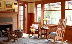 Get the look of this handsome Craftsman living room at the This Old House Wayfair boutique. | thisoldhouse.com