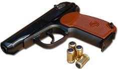 Hand gun transparent image
