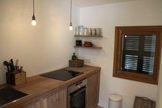 Kitchen, second floor, Casita Sal de Mar, Port de Soller. www.sollersecrets.com