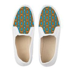 Abstract Tribal Pattern Men's Shoes