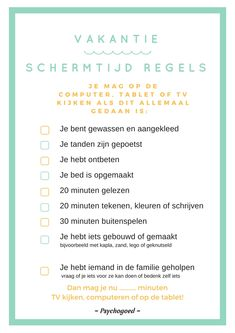 beeldschermtijd Source by lievetytgat Parenting Classes, Kids And Parenting, Coaching, Journal Questions, Frederique, Kids Growing Up, School Hacks, Kids Corner, Raising Kids