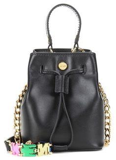 Kenzo Mini Bucket Leather Shoulder Bag