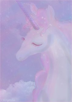 """this is about as """"pastel unicorn"""" as it gets ♥"""