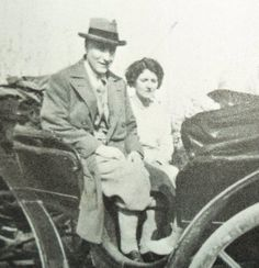 Scott and Zelda Fitzgerald summer of 1925.  It's so interesting that nearly all the photos of them are in transit. (Thanks to F- yeah Zelda Fitzgerald blog)