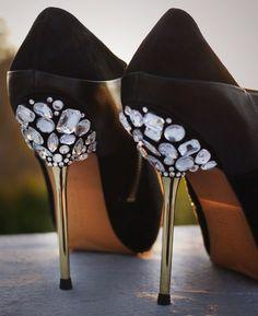 Glam heel DIY!