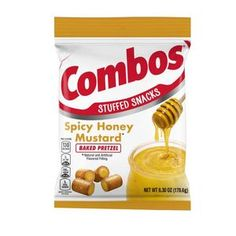 Delicious honey mustard filling inside a pretzel bite.This is a bag. No Bake Snacks, Yummy Snacks, Combos Snacks, Pretzel Thins, Honey Mustard Pretzels, Baked Pretzels, Salted Pretzel, Online Candy Store, Filling Snacks