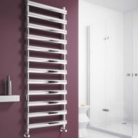Reina Deno Towel Rail - Electric - Satin Brushed / Polished