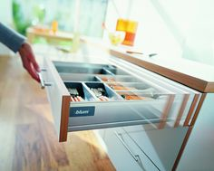 K&G it's not just a kitchen, a place to make food. But its the cente… - Modern Pull Out Drawers, Metal Drawers, Classic Interior, Kitchen Trends, House Made, Working Area, Food To Make, Innovation, Home Improvement