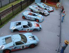 Porsche 917K, 908/3, & Ford GT