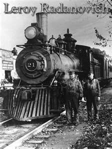 Yosemite Railroad.  Leroy is a great historian for Yosemite and Mariposa area. He's a lot of fun and he owns the old Mariposa Jail where you can be chained up if you like!