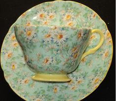 vintage chintzware teacup and saucer