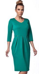 Rochie pentru birou de culoare verde  Lemoniade Cold Shoulder Dress, Dresses, Fashion, Green, Vestidos, Moda, Fashion Styles, Dress, Dressers
