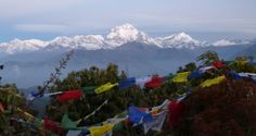 Panorama view from poon hill