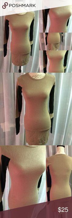 Color block sweater dress Great dress. Super fitted and mini. venus Dresses Mini