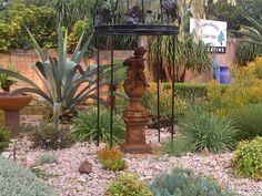 designergardenlandscaping.co.za Concrete Art, Garden Landscaping, Garden Design, Succulents, Gardens, Statue, Landscape, Plants, Front Yard Landscaping