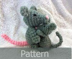 Little Mouse Pattern by AmiAmaLilium.deviantart.com on @deviantART
