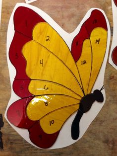 Made-to-Order Butterfly Stained Glass Sun Catcher on Etsy, $45.00