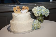 by Bredenbeck's Bakery with handmade topper
