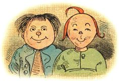 Who are these punks? Meet — if you haven't met them before — Max und Moritz, one of the many 'offspring' of the amazing Wilhelm Busch, one of the 19th Century's …