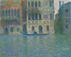 Claude Monet / Venice, Palazzo Dario / 1908 / oil on canvas / Art Institute of Chicago / like a travel poster for Venice ... let's go!