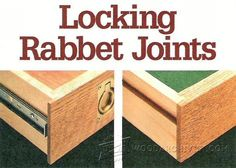 Locking Rabbet Joints - Joinery Tips, Jigs and Techniques   WoodArchivist.com