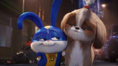 Snowball believes that he's a superhero in the newly released The Secret Life of Pets 2 clip for Illumination's upcoming animated sequel which is set to premiere on June Snowball Rabbit, Puppy Training School, Pets Movie, 2 Movie, Ellie Kemper, Secret Life Of Pets, Harrison Ford, Save Animals, Rabbits