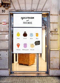 Eyescream and Friends | Barcelona | Icecreams & Fun | Trends: Fun, Iconisation, Urban | Passeig de Joan de Borbó, 30, 08003 Barcelona, Spain | www.eyescreamandfriends.com