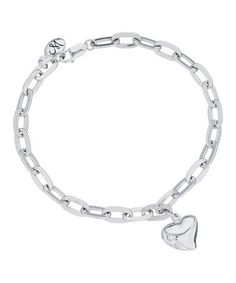 Take a look at this Sterling Silver Romeo Bracelet by Annaleece on #zulily today!