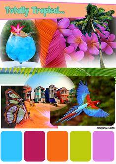 tropical color palette - Google Search