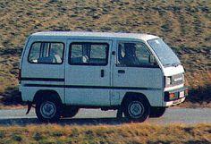 Suzuki Busje wat een gevaarlijk autootje was dat.