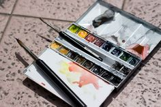 Reviews on watercolour sets and boxes