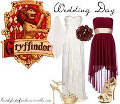 Gryffindor Wedding Day