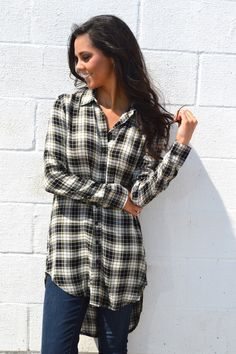 High Plains Plaid Tunic from Shop Southern Roots TX