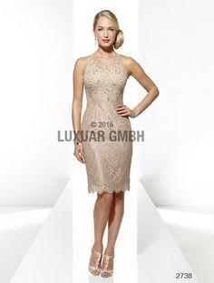 b886042b47bd Luxusné krátke šaty Svadobný salón valery