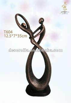 pareja abstracta escultura - Buscar con Google