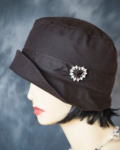 100%Rich-Waterproof-Cotton-Canvas-Wax-Fabric-Ladies-Hat by aileens4hats
