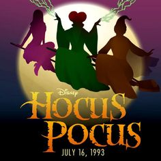 The Sanderson sisters put a spell on you on this day in 1993. #HocusPocus