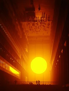 'The Weather Project' by Olafur Eliasson At the Tate Modern in London
