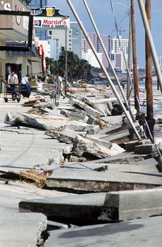 Myrtle Beach Hurricane Hugo 1989