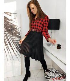 Červené šaty Emmy Tulle, Skirts, Fashion, Moda, Fashion Styles, Tutu, Skirt, Fashion Illustrations