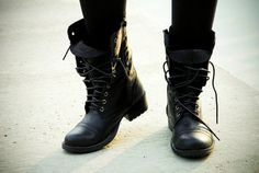 Mens combat boots... with your twist in style and you can look as fresh as you wanna be...