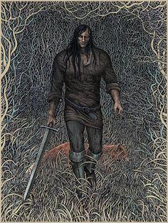 the reddest bite by ~bubug on deviantART Fantasy Drawings, Fantasy Art, Arte Game Of Thrones, Game Thrones, Fantasy Warrior, Dark Art, The Book, Cool Art, Fairy Tales